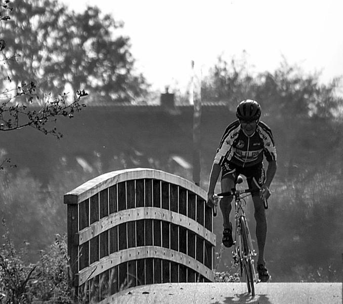 straatfotografie wielrenner vlist