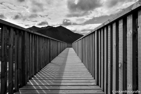 natuurfotografie ijsland zwart wit