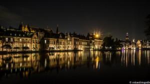 nachtfotografie hofvijver den haag