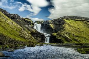 natuurfotografie ijsland waterval Eldgja