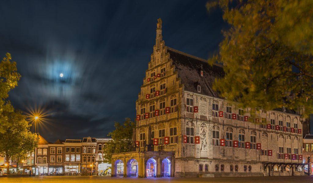 nachtfotografie-stadhuis-gouda