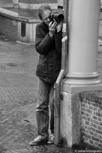 straatfotografie Leiden paparazzo