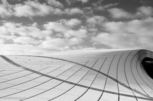 architectuurfotografie dak station arnhem