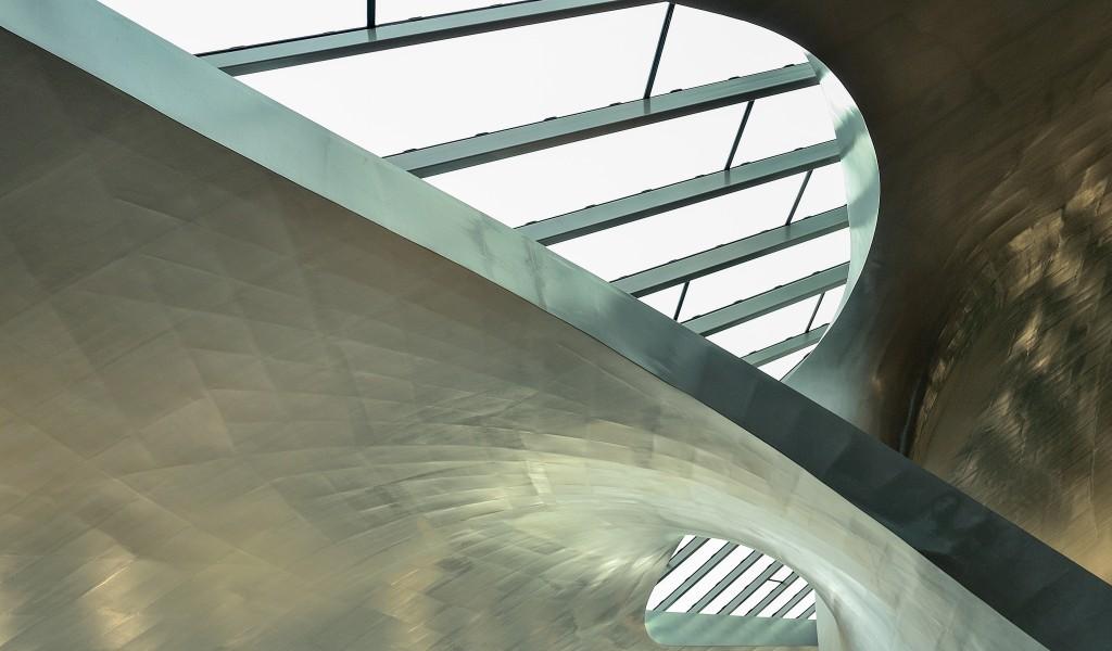 architectuurfotografie station arnhem abstract 3