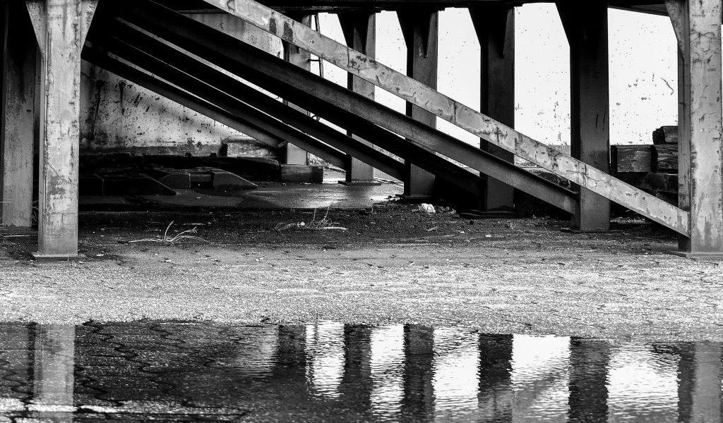 architectuurfotografie rotterdam havens reflectie