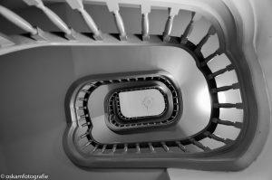 architectuurfotografie meermanno museum den haag trap omhoog