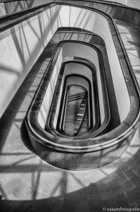 architectuurfotografie trap vaticaanmuseum rome 2