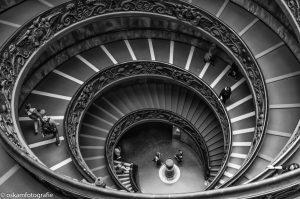 architectuurfotografie trap vaticaanmuseum rome 4