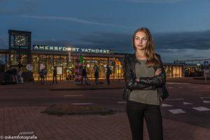 flitsfotografie avondfoto station Amersfoort Vathorst 02
