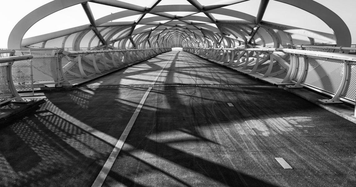architectuurfotografie groene verbinding slider