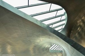 architectuurfotografie station arnhem abstract 3