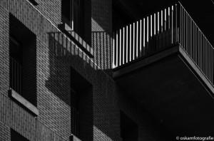 architectuurfotografie balkon Lloydkwartier Rotterdam