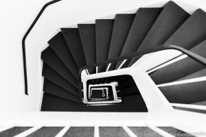 architectuurfotografie spiraaltrap 2  paushuize utrecht