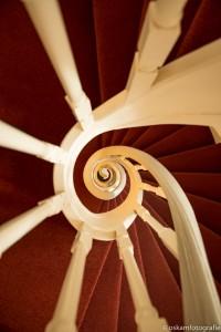 architectuurfotografie spiraaltrap paushuize utrecht