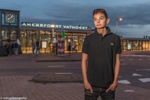 flitsfotografie avondfoto station Amersfoort Vathorst 01