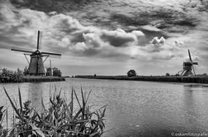 landschapsfotografie molens Kinderdijk4