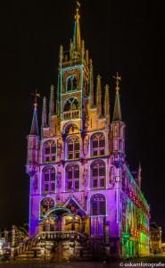 nachtfotografie aangelicht stadhuis 2