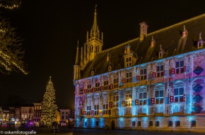 nachtfotografie aangelicht stadhuis 3