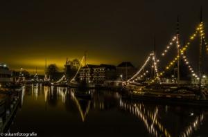 nachtfotografie museumhaven gouda