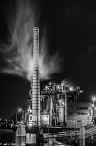 nachtfotografie Croda Gouda zwart wit