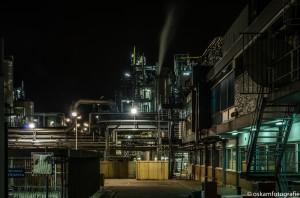 nachtfotografie croda fabriek gouda