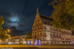 nachtfotografie stadhuis gouda
