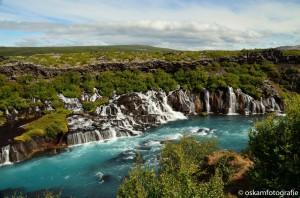 natuurfotografie ijsland hraunfossar lavawatervallen 2