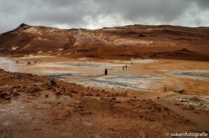 natuurfotografie ijsland modderpoelen Hverir