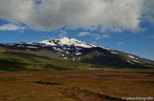 natuurfotografie ijsland vulkaan en gletsjer snaefellsjökull