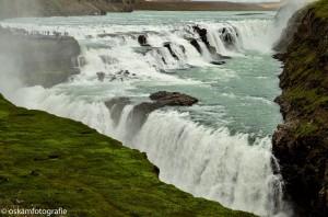 natuurfotografie ijsland waterval Gulfoss