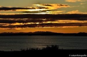 natuurfotografie ijsland zonsondergang Borgarnes