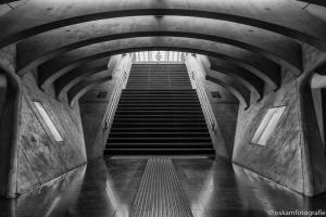 ondergronds op station Luik