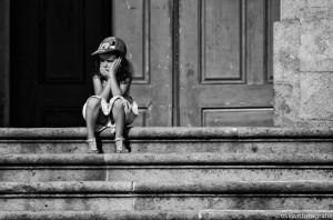 straatfotografie Braga trappen Dom de Jesus