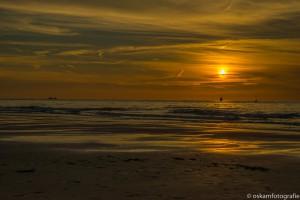 zonsondergang scheveningen strand 1
